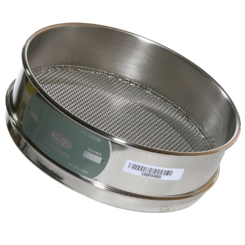 Full Height - Advantech Stainless Steel Test Sieves, 8