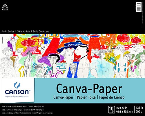CANSON Foundation Series Canva-Paper
