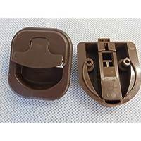 Loquet de caravane-mOT 44401–3 (marron)