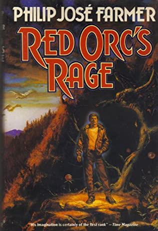 book cover of Red Orc\'s Rage