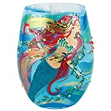 Santa Barbara Design Studio GLS18-5526B Lolita Stemless Wine Glass, Mermaid
