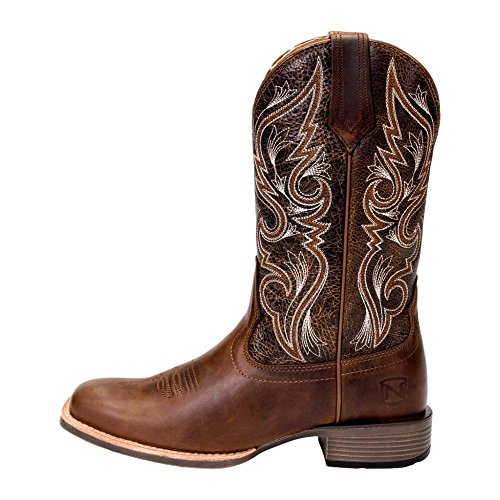 Noble Outfitters Western Boots Womens All Around 11 R Dark Brown - 11' Brown Boot