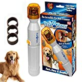 PETFF Pedipaws Dog Cat Nail Grinder, Upgraded Version Professional Electric Pet Nail Grinder Trimmer Grooming Tools by Pedi Paws