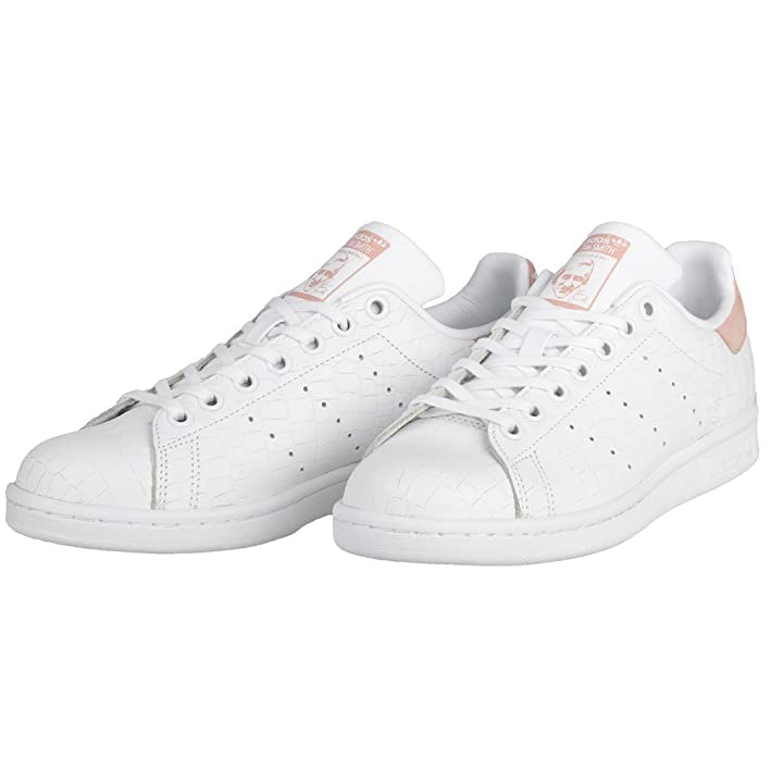 Amazon.com | Adidas - Stan Smith J - S77178 - Color: Pink-White - Size: 6.0 | Sneakers