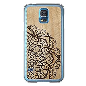 Loud Universe Samsung Galaxy S5 Madala N Marble A Madala 4 Printed Transparent Edge Case - Beige