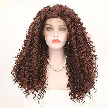 Beauty-Wig Peluca De Encaje Frontal Sin Procesar Pelo Virgen Peluca Cuerpo Ondulado Peluca con
