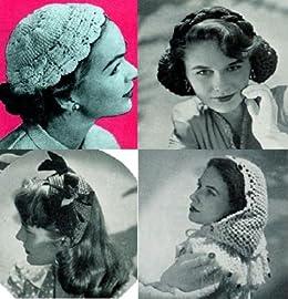 Patrones de Crochet Vintage para sombreros (Spanish Edition) Kindle