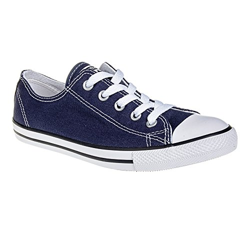 Converse 537649 Womens Canvas Trainers (6 UK, Navy wq12)