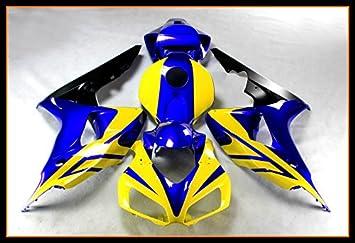 Polo ABS Inyección de plástico molde conjunto completo de embellecedores carrocería con calor Shield parabrisas para 2006 2007 Honda CBR1000RR edición ...