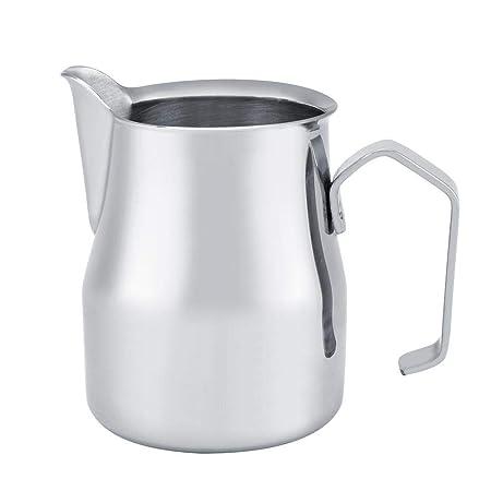 Jarra de café Crema de leche con leche, Acero inoxidable Jarra de ...