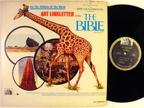 For the Children of the World, Art Linkletter Narrates the Bible...in the Beginning soundtrack