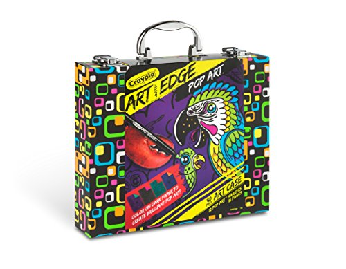 Crayola Art with Edge, Neon Marker and Art Case Set, Adult Coloring, Gift ()