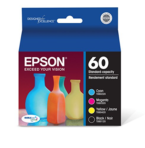 Epson T060120-BCS DURABrite Ultra Black & Color Combo Pack Standard Capacity Cartridge Ink ()