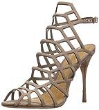 Schutz Women's Juliana Dress Sandal, Neutral, 10.5 M US