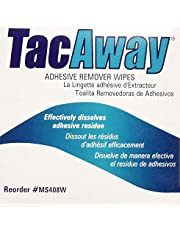 Skin-Tac-H Adhesive Tacaway Remover Wipes, 50Count