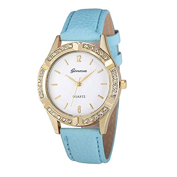 Amazon.com: Womens Watches,Windoson Women Watches Prime Ladies Casual Dress Wrist Quartz Watches with Diamond Leather Band Analog Classic Business Watches ...