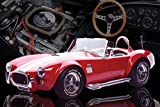 Red AC Cobra Muscle Sports Car Photography Hobby Poster Print (24x36 UNFRAMED POSTER)