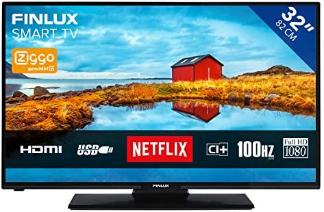 Finlux FL3225FSMART - Televisor (Full HD, 32 pulgadas, Smart TV, Wi-Fi, sintonizador triple, DVB-T): Amazon.es: Electrónica