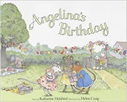 Book Angelina's Birthday (Picture Puffin) by Katharine Holabird (2001-08-30)