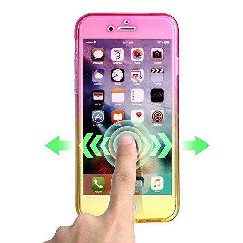 Case iPhone 6 Plus Funda iPhone 6S Plus Carcasa Sunroyal® Premium TPU Impresión Suave Ultra Slim / Resistente a los Arañazos Flexible Bumper Case Cover [Ultra-delgado] [Shock-Absorción] Protectora Con Z-14