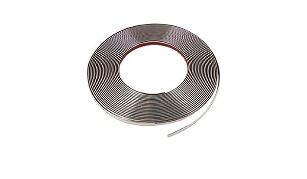 Amazon.com: uxcell 10mm x 15M Silver Tone Width Flexible Chrome Moulding Trim Strip: Automotive