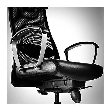 Ikea Markus - Silla giratoria, Negro