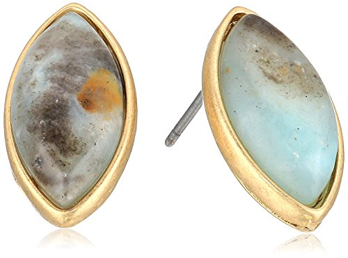 Shape Marquis (CANVAS Marquis Shape Gemstone Amazonite Stud Earrings)