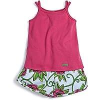 Conjunto Florescer Rosa - Infantil 10A/Y
