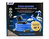 Camco -40F 22921 12' Heated Drinking Water Hose