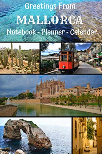 Notebook: Mallorca - A5, Journal, Pads, Diary, Notepad, Sketchbook (Blank) (Planet Earth Project)...