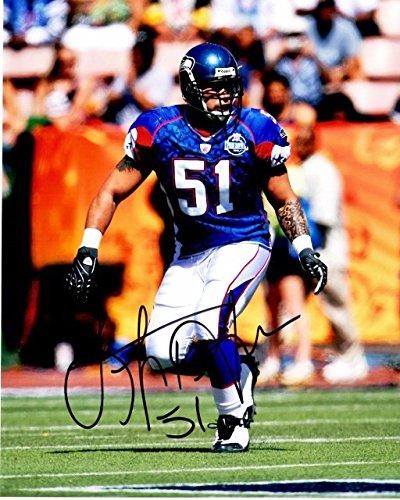 Lofa Tatupu Signed - Autographed Seattle Seahawks PRO BOWL 8x10 inch Photo  - Guaranteed to pass e810e8609