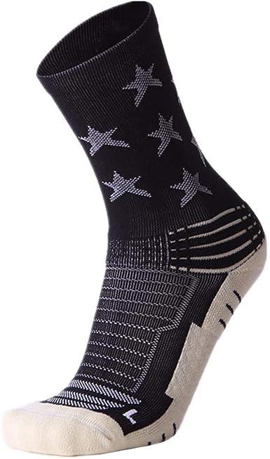pinghub calcetines ciclismo hombre calcetines antideslizante hombre Calcetines de algodón para hombre Calcetines de entrenamiento para hombres black, freesize: Amazon.es: Ropa y accesorios