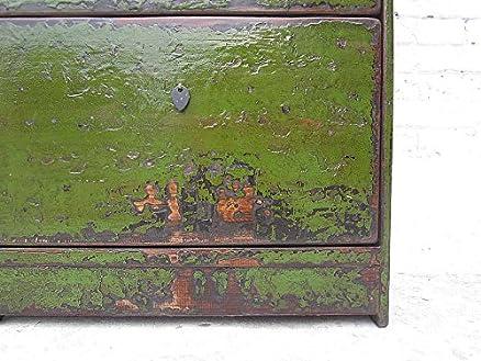 China mittlerer Scarpiera inglese verde verniciatura a tre ...