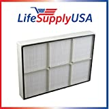 2 Filters fits Whirlpool 1183051K PLASTIC FRAME By Vacuum Savings