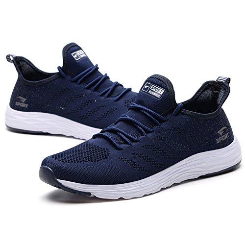 Femme Running Chaussures Homme Bleu Casual Sport Baskets De Sneakers Course HYff8dx