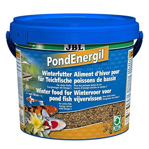 JBL 41028 Alleinfutter für alle Teichfische, Futtersticks, PondEnergil, 1er Pack (1 x 5.5 l)