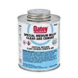 Oatey 30922 ABS Special Milky Clear Cement, 16-Ounce