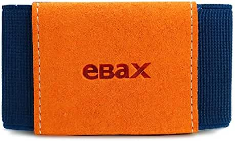 Ebax Minimalist Slim Wallet With Elastic Front Pocket Card Holders And Cash