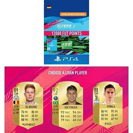 FIFA 19 Ultimate Team - 12000 FIFA Points | PS4 Download Code - deutsches Konto + GRATIS LOAN PLAYER
