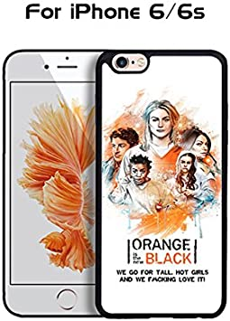 Awesome Orange Is The New Black Look Like Apple Iphone 6 / 6s (4.7 ...