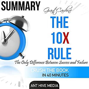 Summary Grant Cardone's The 10X Rule: The Only Difference Between Success and Failure Audiobook