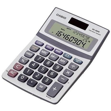 Casio MS-300M - Calculadora (Escritorio, Calculadora básica, 8 ...
