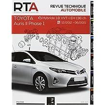 Revue Technique Automobile, N° 814 : Auris II phase 1:1.8i EH (hybrid)( 2013 à 2015)
