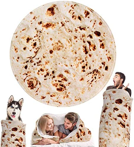 Outivity Burritos Tortilla Blanket Novelty product image