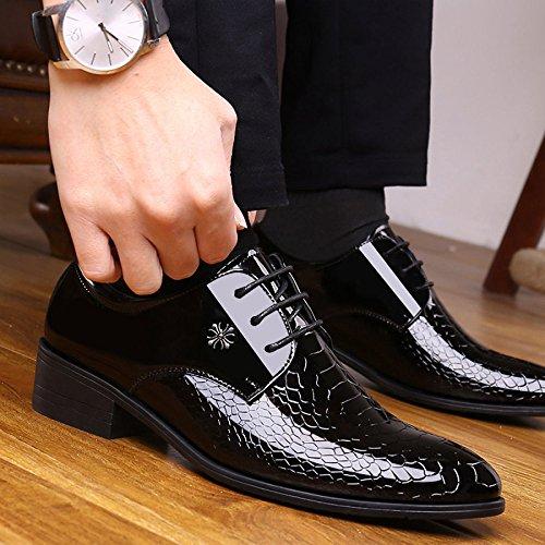 LEDLFIE Herrenschuhe Serpentine Fashion Formalwear Business