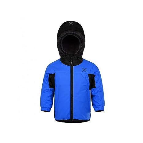 prezzo competitivo d76e2 e202a MONTURA Snow Jacket Baby Blu/Nero - 80: Amazon.it: Sport e ...