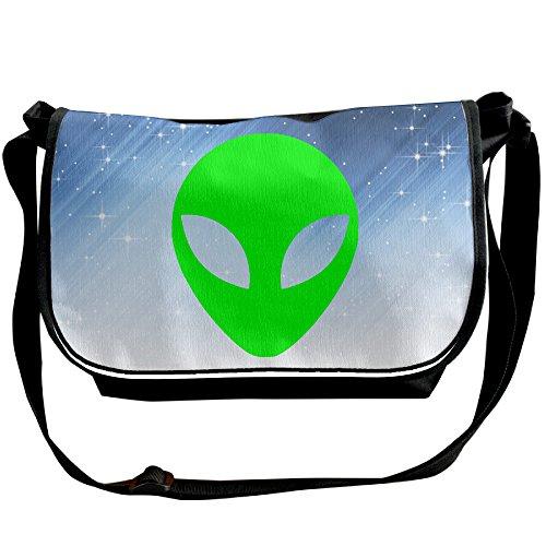 Memoy Alien UFO Cartoon Men Women Shoulder Bag Eco-Friendly Travel Bag