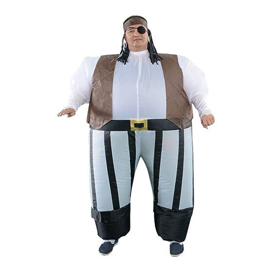 Happyyami Disfraz Inflable de Pirata Traje Hinchable para ...