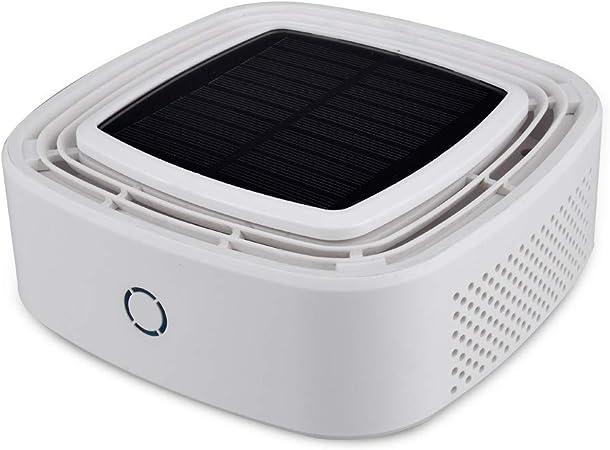 Purificador De Aire, Filtro De Aire Del USB Del Ozono Del Generador Portátil Purificadores De Aire Ozonizador Absorbedor De Olores Filtración,Blanco: Amazon.es: Hogar
