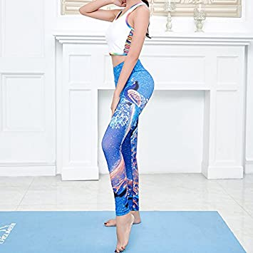 JIALELE Pantalon Yoga Sello Dance Pantalones Stretch Sello ...